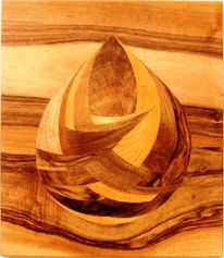 Kunsthandwerk, Marketerie, Intarsienbilder, Holz