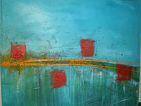 Farben, Leben, Malerei, Abstrakt