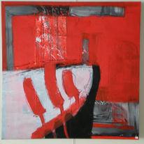 Freunde, Schiff, Abstrakt, Malerei