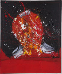 Malerei, Abstrakt, Denker