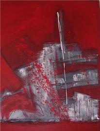 Malerei, Abstrakt, Sieg
