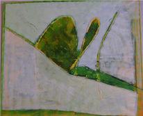 Malerei, Abstrakt, Schnecke