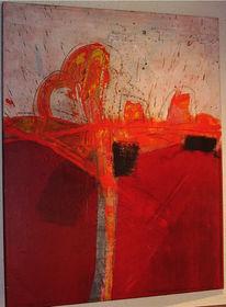 Entstehung, Malerei, Abstrakt
