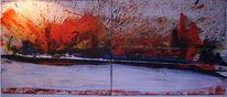 Abstrakt, Explosion, Malerei