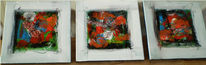 Abstrakt, Malerei, Farben, Stimmung