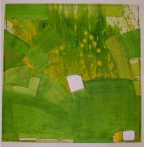 Abstrakt, Frühling, Malerei
