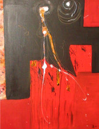 Malerei, Abstrakt, Tierwelt