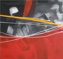 Abstrakt, Malerei, Lichtblick
