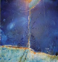 Malerei, Meer, Frau, Erscheinung
