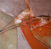 Abstrakt, Malerei, Ausbruch