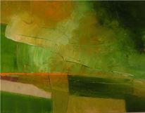 Stimmung, Abstrakt, Malerei, Weg