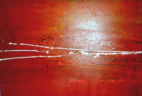 Malerei, Rot, Abstrakt
