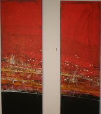 Malerei, Abstrakt, Unruhe