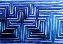 Malerei, Geometrie, Abstrakt
