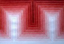 Abstrakt, Malerei, Geometrie, Tonwerte
