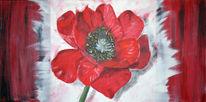 Acrylmalerei, Malerei, Blumen, Pflanzen