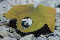 Stein, Ölmalerei, Figural, Herbst
