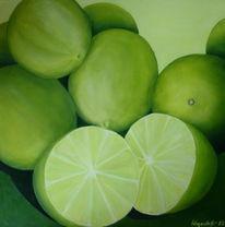 Stillleben, Limetten, Zitrusfrüchte, Früchte