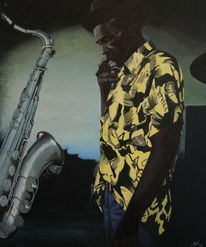 Musik, Kuba, Figural, Zigarre