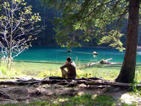 Wasser, Landschaft, See, Fotografie