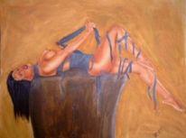 Airbrush, Akt, Figural, Ägypten