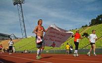 Läufer, Marathon, Hochzeitsantrag, München