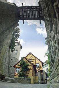 Architektur, Vertikalpanorama, Fotografie, Bodensee