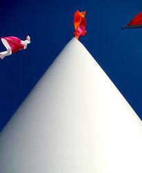 Freiheit, Fahne, Mast, Wind
