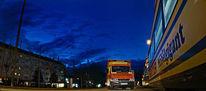München, Fotografie, Straßenbahn, Dämmerung