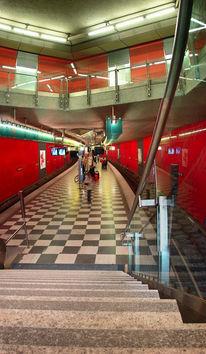 Architektur, Fotografie, München, U bahn