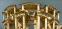 Ephesos, Panorama, Architektur, Bibliothek