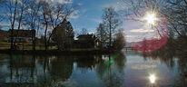 Fotografie, Wallberg, Panorama, Gegenlicht