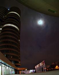 Fotografie, Nacht, Bmw, Mond