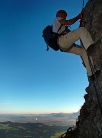 Entfliehen, Senkrecht, Fotografie, Klettern