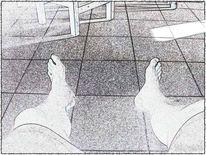 Erholen, Einkaufen, Fuß, Geometrie