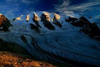 Mond, Palü, Gletscher, Fotografie