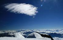 Wolken, Gipfel, Blau, Fotografie