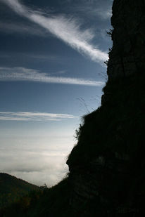 Himmel, Berge, Klettern, Anstieg