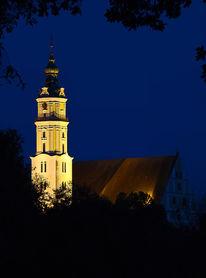 Donauwörth, Kirchturm, Architektur, Fotografie
