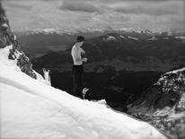 Talblick, Ellmau, Österreich, Wolken