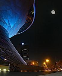 Bmw, Tempel, Nacht, Fotografie