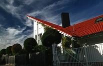 Gröbenzell, Architektur, Einfamilienhaus, Schräge