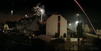 Panorama, Silvester, Nacht, Freudig
