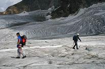 Spalt, Gletscher, Schweiz, Suche