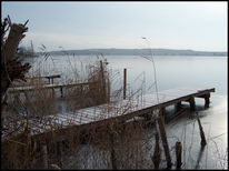 See, Wasser, Winter, Fotografie