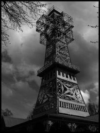 Turm, Monochrom, Konstruktion, Fotografie