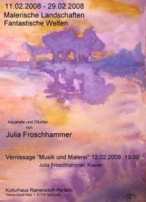 Ausstellung, Pinnwand