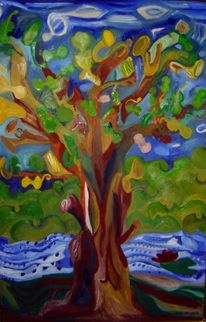 Instrument, Malerei, Baum, Orchester