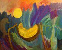 Meer, Glück, Malerei, Figural