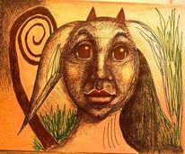 Augen, Ohr, Surreal, Zeichnung